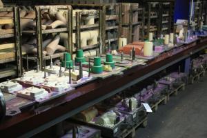 Modelle für kleine Maschinenformanlage bis 250 kg Stückgewicht.