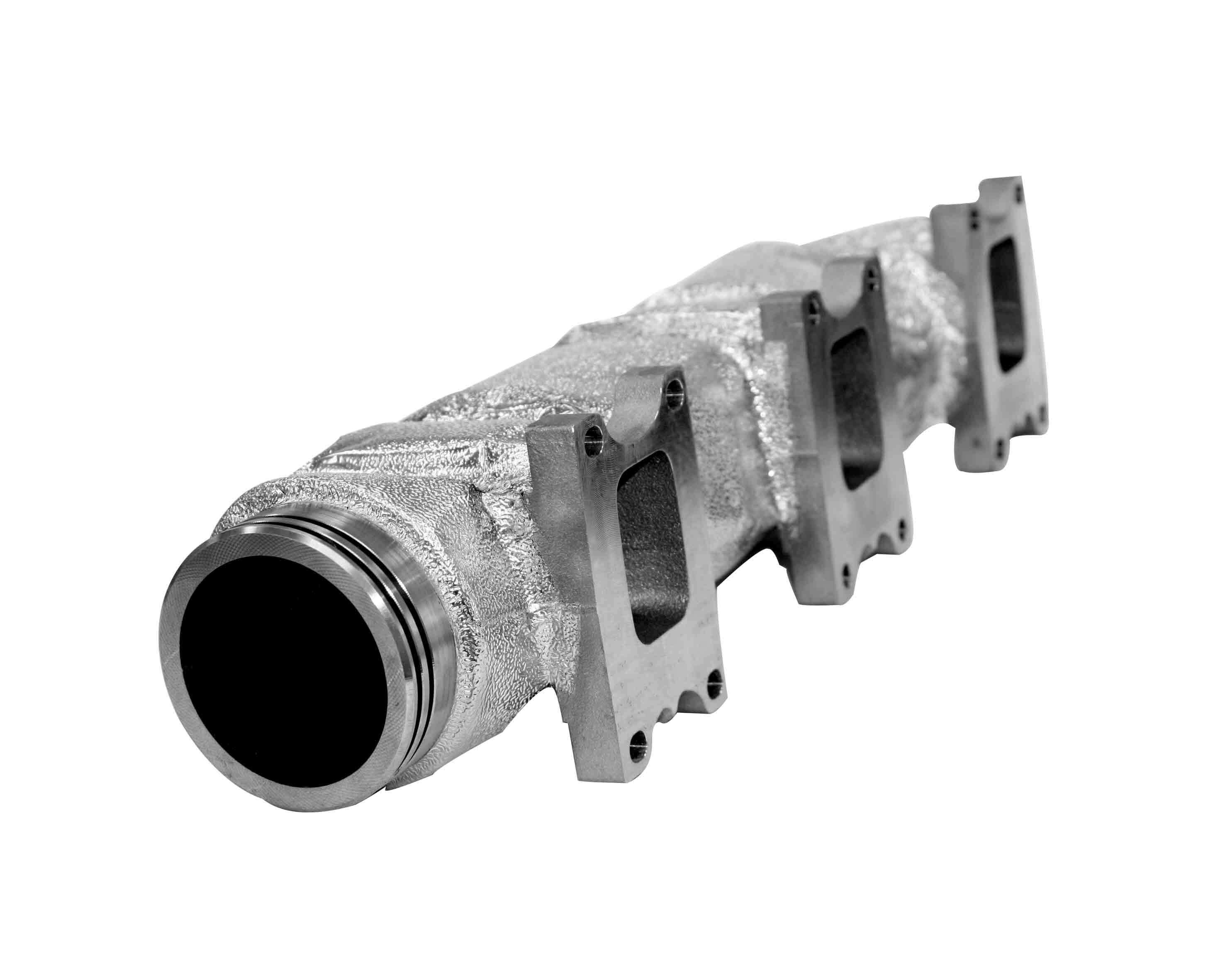 Insulation of an exhaust manifold - Ni-Resist