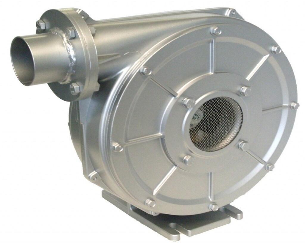 Kernintensive Gebläsegehäuse werden stückzahlabhängig und abhängig von der Temperaturbelastung als Blechbauteile oder aus duktilem Gusseisen gefertigt