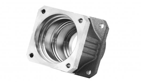 Bauteile aus Sphäroguss für die Antriebstechnik werden eng toleriert mit Passungen produziert