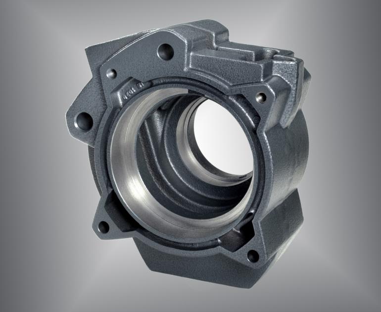 Bauteile aus Sphäroguss und ADI sind in der Antriebstechnik und der Fördertechnik eingesetzt als hochbelastete Funktionsbauteile