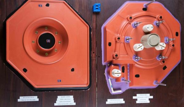 Modellhälfte-CNC-Fräse-Formteilung