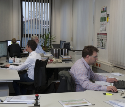 Die Abteilung Fertigungstechnik optimiert mit Programmen zur Simulation der Giessereiprozesse Bauteile aus Gusseisen
