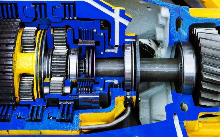In der Antriebstechnik sind Bauteile aus ausferritischem Gusseisen bis 30 kg Stückgewicht im Einsatz.